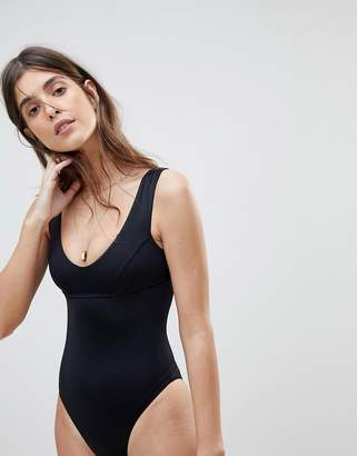 Vitamin A Swimsuit in black