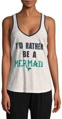 PJ Salvage Rather Be A Mermaid Tank Top