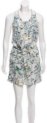 Edun Silk Printed Dress