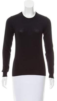 Belstaff Ribbed Crew Neck Sweater