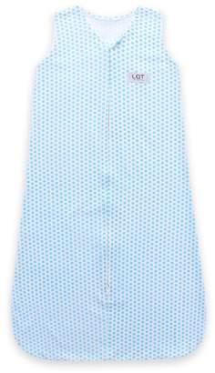 Lee and Town LAT 100% Cotton Jersey Baby Sleeping Bag, Unisex Sleepsack Swaddle Sleeveless Sleepwear Romper for Toddler Boys Girls (6-18 Months)