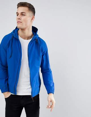Next Hooded Jacket in Blue