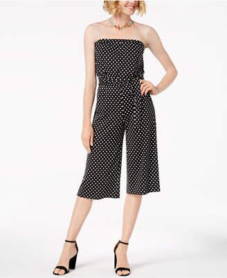 MSK Petite Printed Blouson Jumpsuit