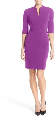 Women's Tahari Bi-Stretch Sheath Dress $128 thestylecure.com