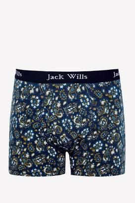 Jack Wills Bridgenorth Paisley Print Boxer Shorts