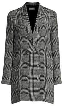 Fleur Du Mal Plaid Blazer Dress