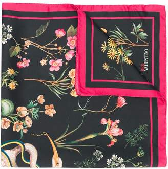 RED Valentino floral scarf