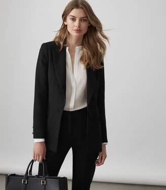 Reiss Roza Jacket - Single-breasted Blazer in Black
