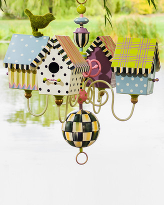 Mackenzie Childs Birdhouse Chandelier