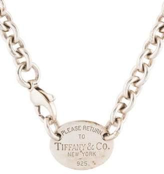 Tiffany & Co. & Co. Return to Oval Tag Choker
