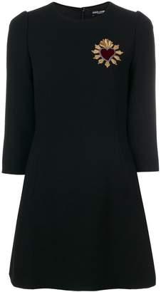 Dolce & Gabbana A-line embroidered dress