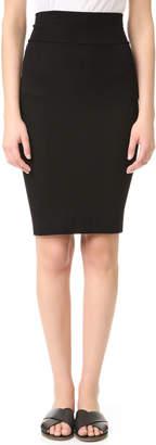 Enza Costa Rib Pencil Skirt