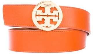 Tory Burch Logo Leather Belt