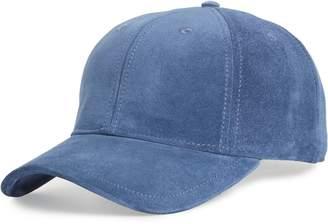 Rag & Bone Archie Suede Baseball Cap