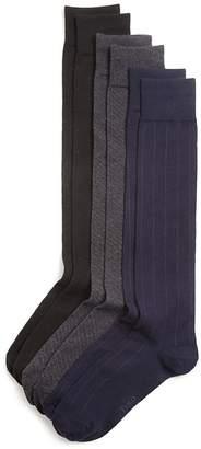 Polo Ralph Lauren Over-The-Calf Assorted Dress Socks, Pack of 3