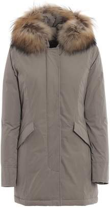 Woolrich Luxury Arctic Taupe Padded Coat