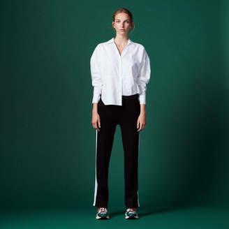 Sandro Oversize cotton poplin shirt