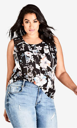 City Chic Young Floral Top