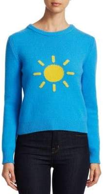 Alberta Ferretti Rainbow Week Capsule Days Of The Week Sun Emoji Sweater