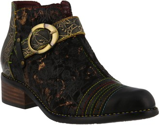 Spring Step L'Artiste by Leather Booties - Georgiana