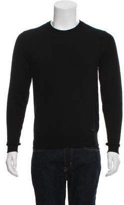 Saint Laurent 2016 Crew Neck Wool Sweater