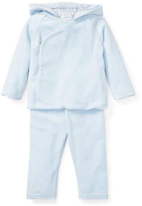 Ralph Lauren Hooded Top w/ Matching Pants, Size 6-24 Months