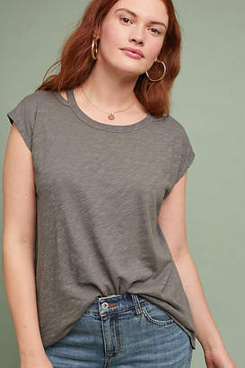 Left Of Center Carly Cutout Tee