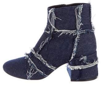 MM6 MAISON MARGIELA MM6 by Maison Martin Margiela Denim Ankle Boots