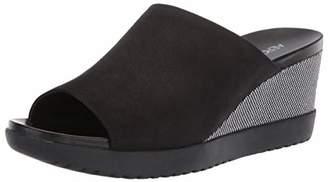 Aerosoles Women's Blonde Wedge Sandal - Opened Toed Wedge Shoe with Memory Foam Footbed (M - )