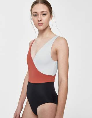 Solid & Striped Ballerina One-Piece Swimsuit