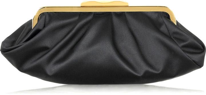 Fendi Satin framed clutch