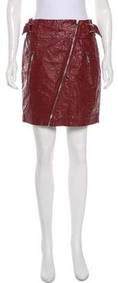 Isabel Marant Faux Leather Mini Skirt w/ Tags