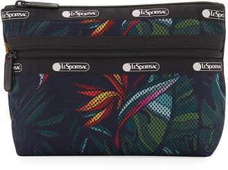 Le Sport Sac Taylor Greenery-Print Small Cosmetic Bag