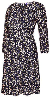 Séraphine Avolon Floral Print Maternity Dress, Navy/Multi