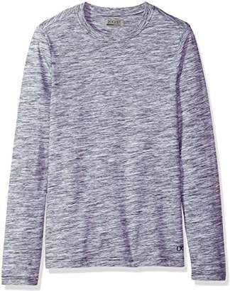 2xist Men's Spacedye Long Sleeve Crew