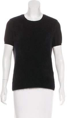 Max Mara 'S Short Sleeve Knit Top