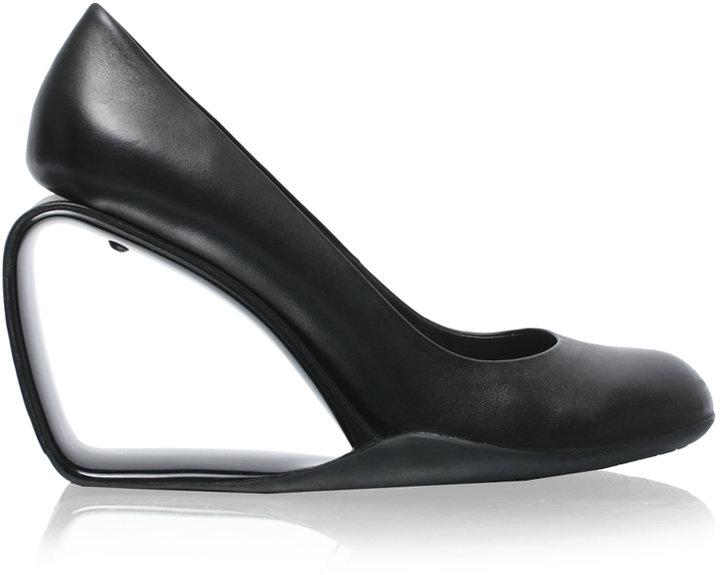 United Nude Leather Wedge Shoe