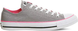 Converse low-top canvas trainers