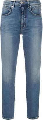 Adaptation logo patch skinny jeans