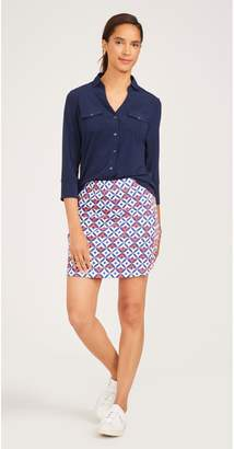 J.Mclaughlin Palm Springs Skort in Mod Wellington Check