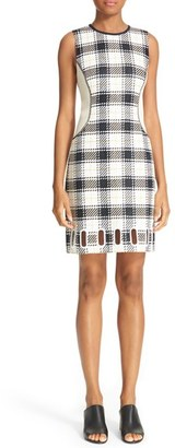 Women's 3.1 Phillip Lim Surf Plaid Sheath Dress $750 thestylecure.com