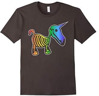 Unicorn Rainbow Skeleton T-Shirt
