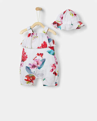 Ted Baker KRIZTI Floral playsuit