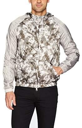 Armani Exchange A|X Men's All Over Printed Eagle Camo Jacket