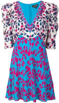 Saloni floral print mini dress
