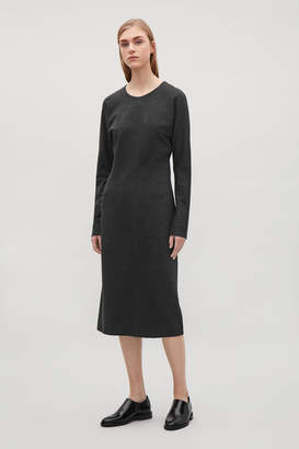 Cos BATWING-SLEEVE DRESS