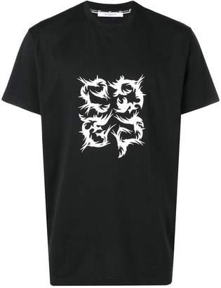 Givenchy tribal logo t-shirt