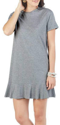 Mud Pie Hope Flounce T-Shirt-Dress
