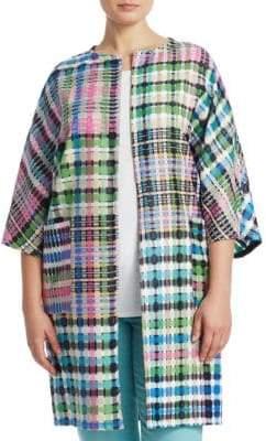 Marina Rinaldi Marina Rinaldi, Plus Size Fase Long Woven Jacket