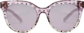 MCM Cat Eye Logo Plaque Sunglasses
